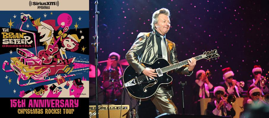 Brian Setzer Orchestra: Christmas Rocks at Fox Theatre Oakland