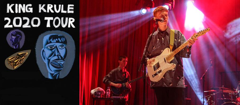 King Krule at Fox Theatre Oakland