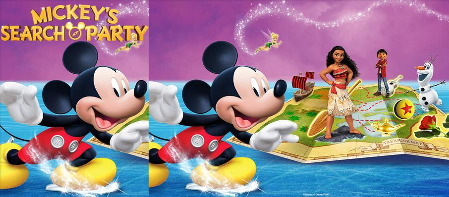 Disney on Ice: Mickey's Search Party at Oakland Arena